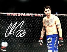 CHRIS CAMOZZI HAND SIGNED AUTOGRAPHED 8X10 UFC MMA PHOTO WITH FANATICS COA 1