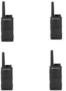 4 Pack Motorola Rmu2040 Walkie Talkie Radios New In Retail Boxes