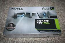 NEW EVGA GeForce GTX 1050 Ti FTW DT GAMING, 04G-P4-6256-KR, 4GB GDDR5, ACX 3.0