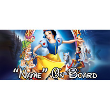 Disney Snow White Personalised Baby On Board Car Sign (1)