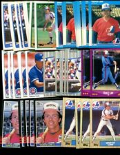 VANCE LAW BULK LOT OF 100 BASEBALL CARDS PITTSBURG PIRATES CHICAGO WHITE SOX
