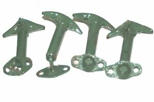Bonnet HoodClip Latch Set of 4 Military Green For Wrangler Willys Ford Jeeps ECs
