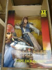 """NEW NECA CAPTAIN JACK SPARROW AT WORLDS END 12"""" ACTION FIGURE WITH SOUND"""