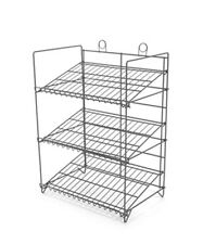 Counter Gum, Candy and Snack Display Rack - 3 Shelf (Black)