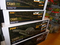 FOX  CAMOLITE EXPLORER BARROW FLATLITER BED camo lite   CARP