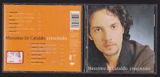 MASSIMO DI CATALDO CD ALBUM CRESCENDO
