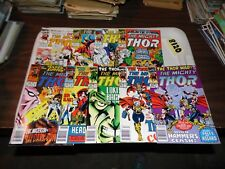 Thor Lot of 9 books #439 #440 #441 #442 #443 #446 #452 #453 and #454
