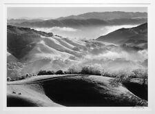 JOHN WIMBERLEY 1993 CARMEL VALLEY FROM HALL'S RIDGE 11X14 PHOTOGRAPH