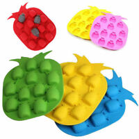 Bar Party Drink Ice Tray Pineapple Shape Ice Jelly Cube Freeze Mold Ice Maker