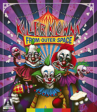 Killer Klowns From Outer Space Blu Ray With Slip Cover Arrow Video Films RARE
