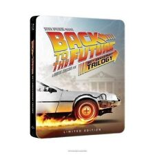 BACK TO THE FUTURE 30th Anniversary Trilogy Steelbook Limited Edition Blu-Rays