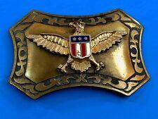 Vintage American Union Army Eagle E Pluribus Unum Vintage Belt Buckle