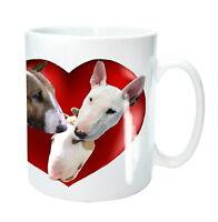Bull Terrier Mug English Bull Terrier Dogs Heart Birthday Gift Mothers Day Gift