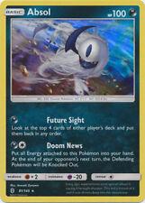 4X Absol (81/145) -NORMAL HOLO RARE Pokemon- SM Guardians Rising -NM-