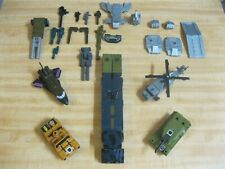 Transformers G1 Bruticus lot 100% complete ---- BROKEN Onslaught and parts ----