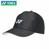 Yonex Sports Hat Badminton Tennis Squash Unisex Cap Black Racket Racquet W-341