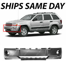 NEW Primered - Front Bumper Cover for 2005 2006 2007 Jeep Grand Cherokee SUV