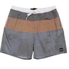Oakley SLICKER Boardshorts 34 L Charcoal Mens Casual Beach Shorts Boardies