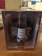 NIB-GIFT SET Bath & Body Works-ROSE Fragrance Mist-Body Lotion-Shower Gel