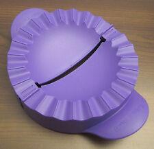 Tupperware D 157 Teigfalle für große Teigtaschen etc. Lila Violett Neu OVP