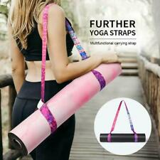 Yoga Mat Carry Strap Shoulder Sling Adjustable Gym Exercise Adjustable New