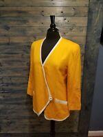 Vintage 80s Does 50s LILLI ANN spring  Suit Jacket - M