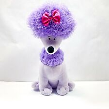 "Kohl's Cares Cleo Plush Purple Poodle Clifford The Big Red Dog 12"" Stuffed Toy"