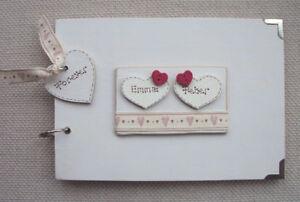 PERSONALISED ..LOVE..A5  SIZE.. PHOTO ALBUM/SCRAPBOOK/MEMORY BOOK.