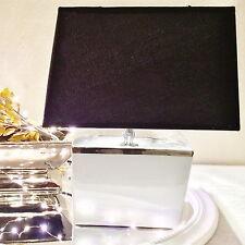 Rechteckig Tischlampe Grau-Silber Shabby Chic Tischleuchte Keramiklampe Deko