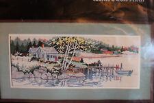 Dimensions CountedCross Stitch Lake House Cottage Arcadia Diane Clapp Bartz 3665