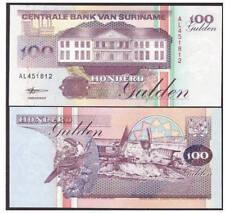 Surinam / Suriname P 139b 100 gulden 1998 UNC