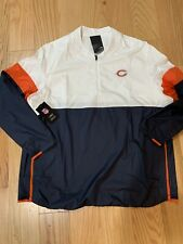 NFL Chicago Bears Nike Dri-Fit Repel 1/2 Zip Jacket Men's XL BNWT AO4228-100