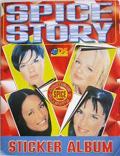 SPICE STORY Sticker Album Spice Girls Album figurine