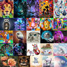 5D DIY Colors Animals Diamond Painting Embroidery Cross Stitch Kit Crafts Decor