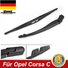 Passt Für Opel Corsa C Heck Scheibenwischer+Heckwischerarm Wischblatt Hinten DHL