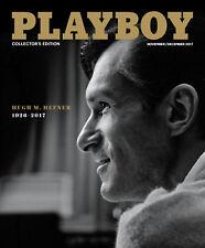 HUGH M HEFNER 1926-2017 - PLAYBOY MAGAZINE NOVEMBER DECEMBER 2017 - BRAND NEW