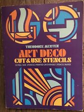 Dover Art Deco Cut And Use Stencils