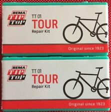 2x Rema Tip Top TT01 Fahrrad Flickzeug Reifenreparatur Set