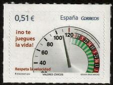 SPAIN MNH 2012 SG4657 RESPECT SPEED