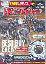 6 Classic Motorcycle Magazines From 2013 - July to December 2013 (New Copies)