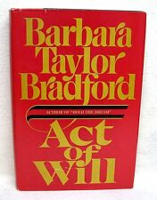 Act Of Will By Barbara Taylor Bradford Used Book Hardback W/Dust Cover