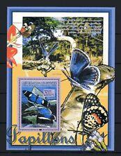 Guinea 2008 mariposas colección nº 840 nueva 1er elección