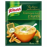 Knorr Chanterelle Mushroom Soup Mix Zupa Z Kurek ze Szczypiorkiem (3-Pack)