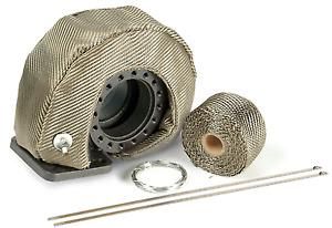 DEI 010145 5pc. T4 Titanium Turbo Shield Custom Fit Heat Blanket Kit