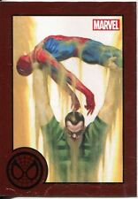 Marvel Greatest Battles Red Bordered Parallel Base Card #48