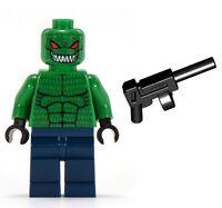 LEGO BATMAN KILLER CROC WITH TOMMY GUN Weapon Minifig Minifigure Figure 7780