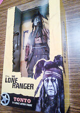 """TONTO 18"""" FIGURE! Johnny Depp! Disney's THE LONE RANGER! 1/4 Quarter scale NECA"""