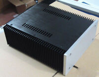 Express Delivery Full Aluminum Power amplifier Enclosure chassis  case heatsink