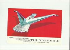 FORD 4-PASSENGER  THUNDERBIRD USA SALES BROCHURE 1958