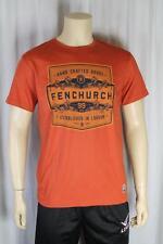 Fenchurch Hombre óxido Camiseta Talla Mediana (85)